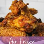 Air Fryer Fried Chicken on a plate