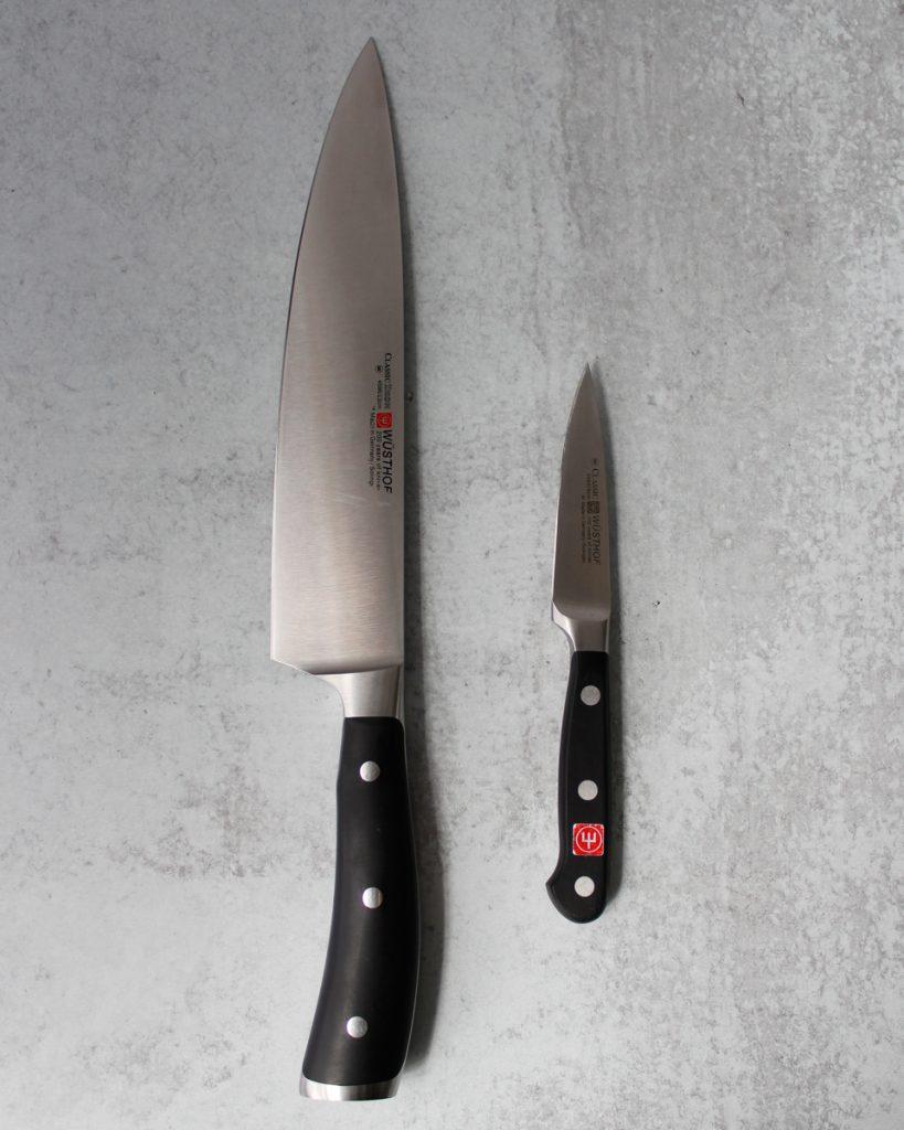 Wüsthof 10 inch Chef's Knife & Wüsthof Paring Knife. Kitchen essentials.