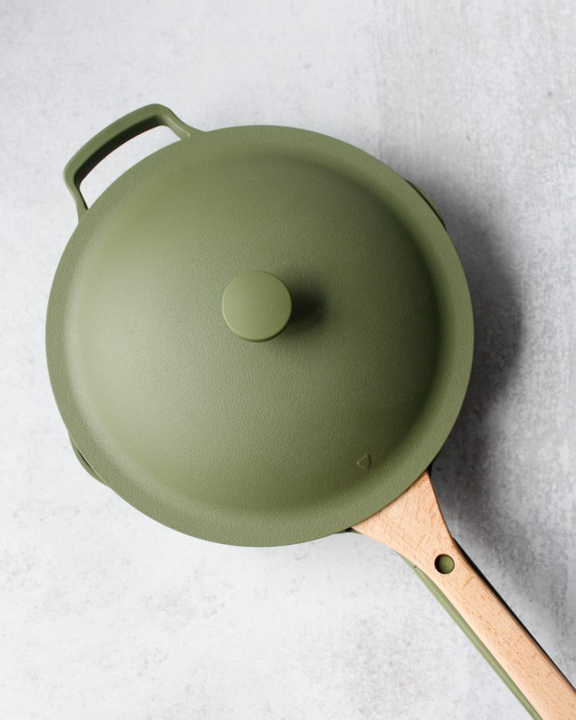 Always Pan by Our Place in the color Sage. Kitchen essentials.